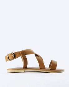 Utopia Leather Sandals Tan