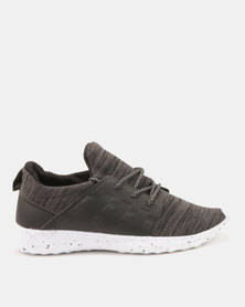 Utopia Knit Sneaker Black