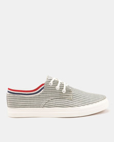 Utopia Stripe Sneaker Grey