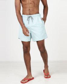 New Look Swim Shorts Mint Green