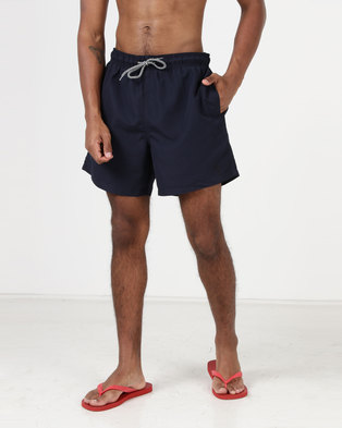 New Look Swim Shorts Navy