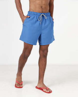 New Look Swim Shorts Blue