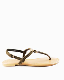 New Look T Hot SDT Metal Toe Post Sandals
