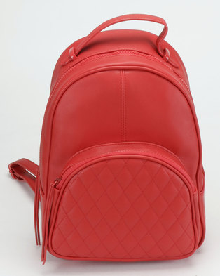 Call It Spring Zieca Backpack Red