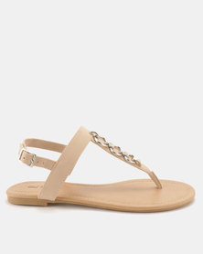 Call It Spring Asauclya Sandals Bone