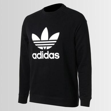 227589a70f51a8 adidas Originals Raglan Trefoil Crew Black | adidas