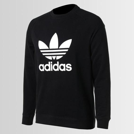 f106b3a40bd adidas Originals Raglan Trefoil Crew Black | adidas