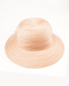 Queenspark Fancy Flower Hat Pink