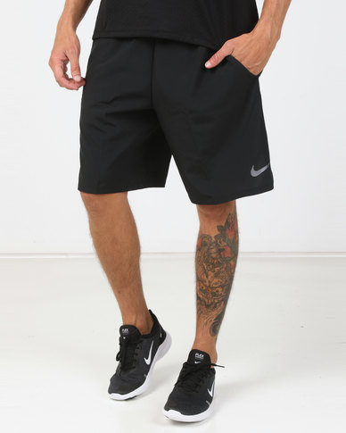 4ff072668439 Nike Performance Nike Flex Shorts Woven 2.0 Black Dark Grey