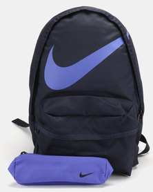 Nike Halfday Back To School Backpack Blue