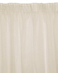 Sheraton Alex Sheer Unlined Curtain Beige