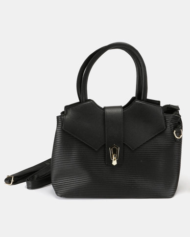 Utopia Over Strap Bag Black