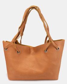 Utopia 4 Piece Bag Tan