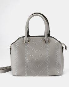 Utopia Lasered Handbag Grey
