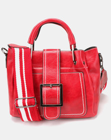 Utopia Long Strap Bag Red
