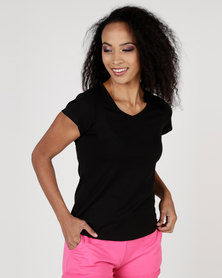 Utopia Basic T-Shirt Black
