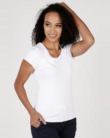 Utopia Basic T-Shirt White