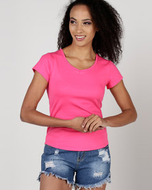 Utopia Basic T-Shirt Cerise