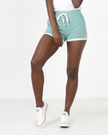 Utopia Fleece Shorts Green