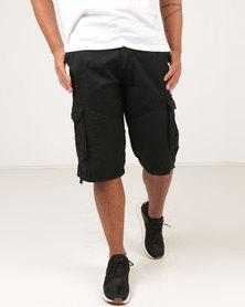 Utopia Cargo Shorts Black