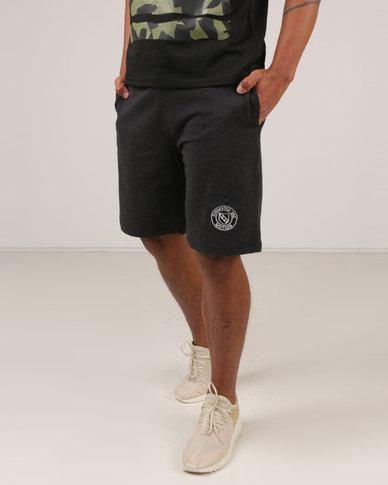 Utopia Fleece Shorts Charcoal