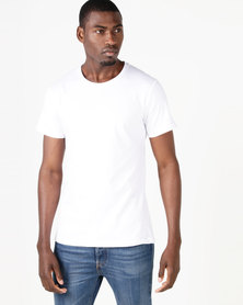 Fittees Clothing Fitted Tee White