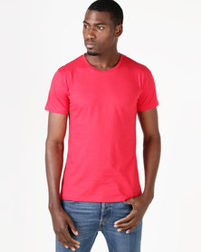Fittees Clothing Fitted Tee Red