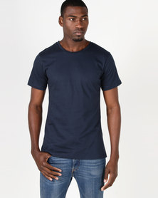 Fittees Clothing Fitted Tee Blue