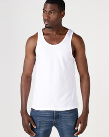 Fittees Clothing Vest White