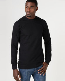 Fittees Clothing Crewneck Pullover Black