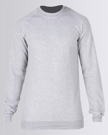 Fittees Clothing Crewneck Pullover Grey
