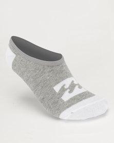 Billabong Invisible Sock Box Set Grey/White