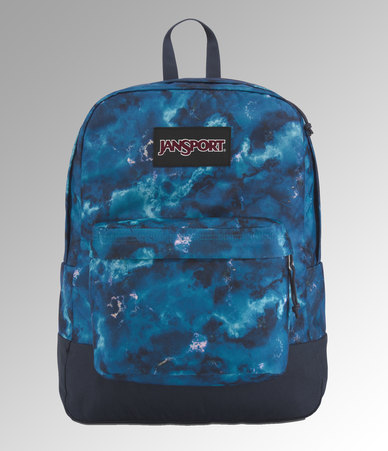 JanSport Black Label Superbreak Backpack Marble Skies
