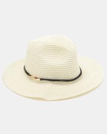 All Heart Straw Hat Cream