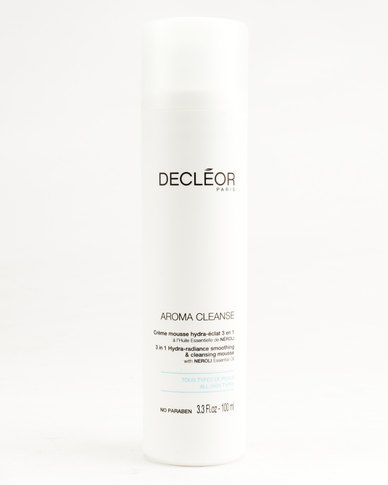 Decléor Aroma Cleanse 3 In 1 Hydra Radiance Smoothing and Cleansing Mousse 100ml