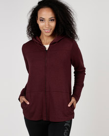 Hurley Icon Zip Fleece Red