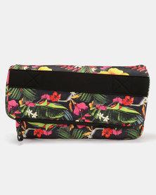 Hurley Neoprene Print Clutch Bag Multi