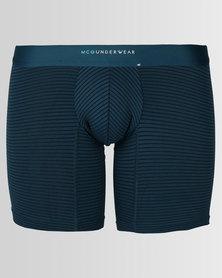 McGlaren Stripe Mirco Friber Bodyshorts Pertrol Blue