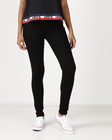 Levi's ® 711 Skinny Jeans Black Sheep