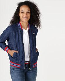 Levi's ® Soraya Bomber Jacket Dark Mid Wash