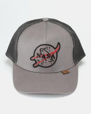 Alpha Industries Baseball Peak Cap Grey