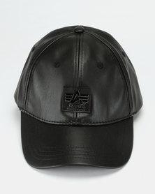Alpha Industries PU Cap Black