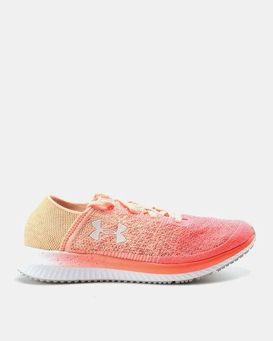 Under Armour UA W Threadborne Blur Sneaker Peach Horizon After Burn W