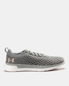 Under Armour W Lightning 2 Running Shoes Steel Graphite Flushed Pink