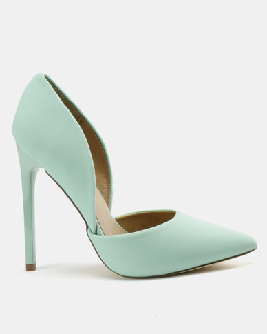 Madison Leah Two Part Pointy Courts Pastel Green