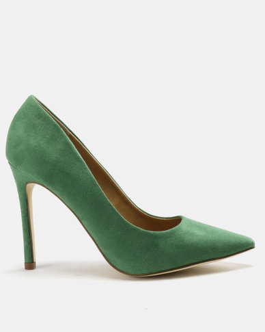 Madison Katinka Pointy Courts Green