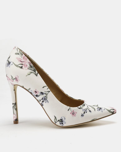 Madison Katinka Pointy Courts Pink Floral