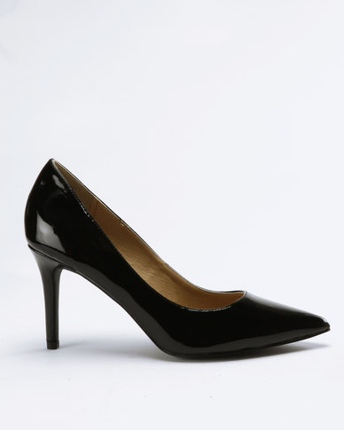 Madison Penny Pointy Courts Black