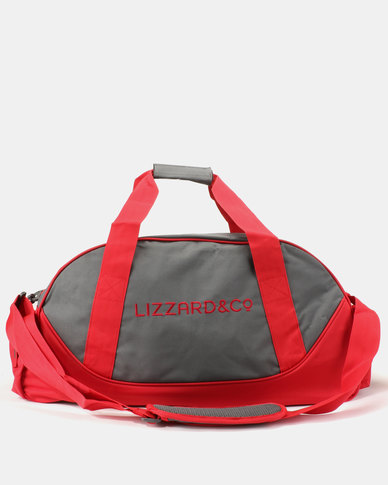 Lizzard Snatch Duffel Red/Grey
