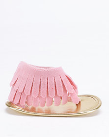 Bugsy Boo Tassel Sandals Pink